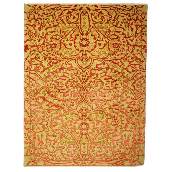Design Hana Orange Die großen Blumen