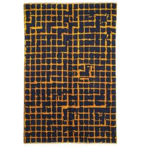 Design Ravan Orange – Der Geometrische